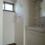 洗濯置場・洗面所新しい設備